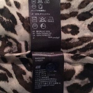 H&M Tops - H&M Leopard Print Sleeveless Blouse